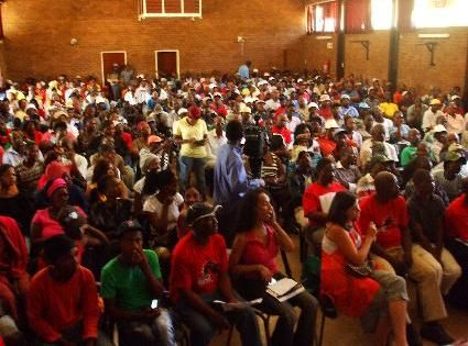 Workers and Socialist Party launch making waves within the combative SA working class