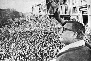 Chile - Allende Speaks to Mass Rally