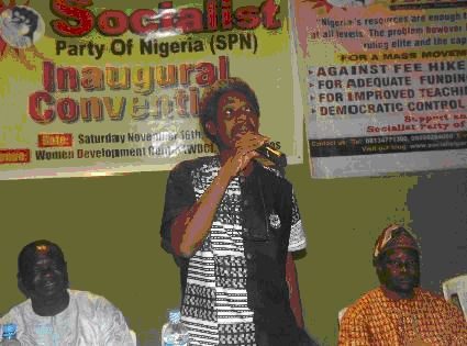 Nigeria: A political party of the working class is born