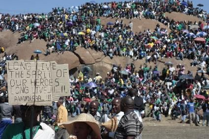 South Africa: One year after the Marikana massacre