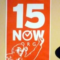Launch of $15 Now campaign in Seattle