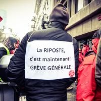Belgium: Massive general strike makes the government wobble