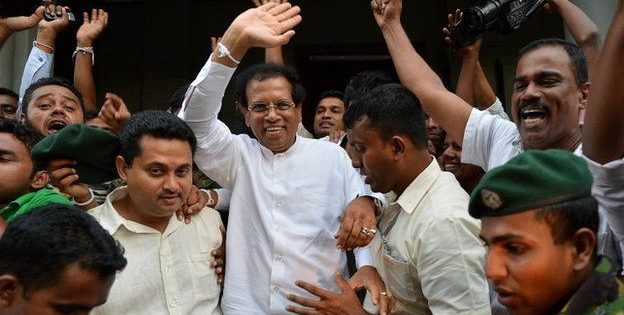 Sri Lanka: President Rajapaksa defeated