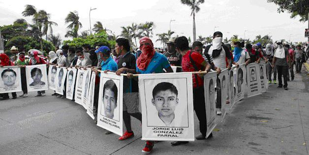 """Mexico: Wave of Protests Follow Student """"Disappearances"""""""