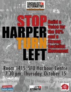 StopHarperPoster