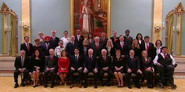Trudeau's Cabinet: Does it Kick Sexism?