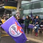 Toronto Airport – workers mobilizing