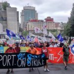 Montreal Workers Strike for $15