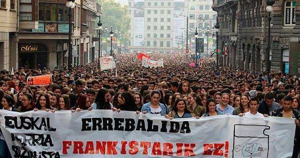 Spain:Historic student general strike