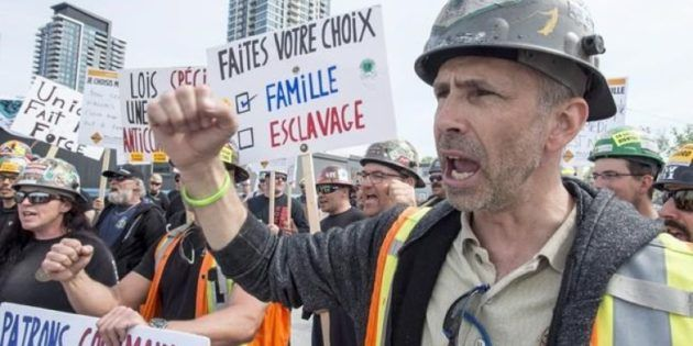 Québec: 175,000 Construction Workers Strike