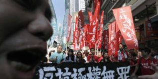 Hong Kong: International solidarity campaign launched as government steps up repression