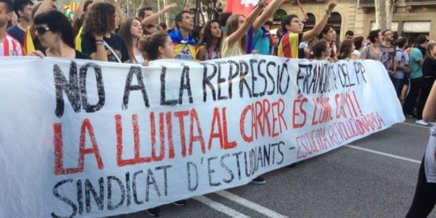 Catalonia: Defeat Article 155/Francoist repression with a general strike