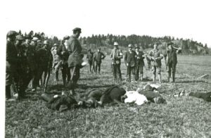 Massacre of Workers by right-wing