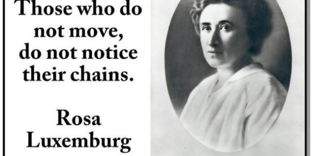 The revolutionary Rosa Luxemburg